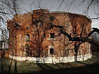 Stronghold Fort 31 Benedykt, Krakow, Poland.