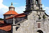 Parish church of San Xoan de Rio, Orense, Spain.