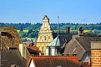 View across the rooftops of the Old Town of Constance at Lake Constance, Germany, Europe.