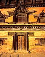 Fifty-Five Windows Palace, Bhaktapur, Nepal, Asia,.