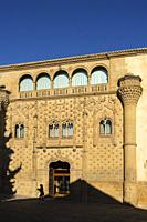 Jabalquinto palace, Antonio Machado Andalusian International University. Baeza, Jaén province. southern Andalusia. Spain Europe.