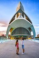 Queen Sofia Arts Palace. City of Arts and Sciences . Palau de les Arts Reina Sofia. Architect Santiago Calatrava. Valencia. Comunidad Valencia. Spain....