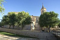 Our Lady of the Assumption Church, Tembleque, Toledo, Castilla la Mancha, Spain