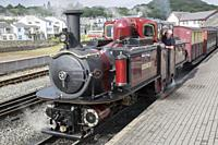 Ffestiniog and Welsh Highland Railways; Porthmadog; Wales; UK.