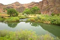 Lower Owyhee River canyon, Vale District Bureau of Land Management, Oregon.