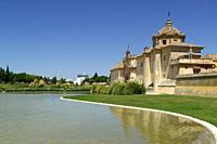 Seville (Spain). View of the Monastery of the Cartuja de Sevilla.