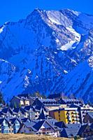 Formigal Ski Resort, Ski Area, Pyrenees, Huesca, Aragón, Spain, Europe.