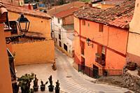Los Fayos, village of the Moncayo region. Zaragoza.