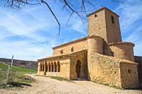 San Pedro church. Caracena, Soria province, Castilla Leon, Spain.