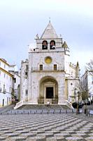 Republic Square and Church of Our Lady of the Assumption, Garrison Border Town of Elvas and its Fortifications, Portalegre District, Alentejo Region, ...