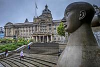Victoria Square and town hall , Birmingham, England.