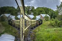 Vale of Rheidol Steam Railway, Ceredigion, Wales.
