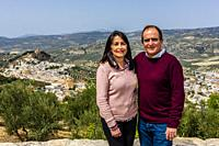 A portrait of a Cuban couple who live in Montefrio, Granada Province, Andalusia, Spain.