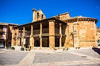 Romanesque church of San Miguel. Ayllon, Segovia, Castilla y leon, Spain, Europe.