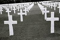 Manila American War Cemetery and Memorial in Bonifacio Global City in Manila in Luzon Metro Manila in the Philippines in Southeast Asia Far East.