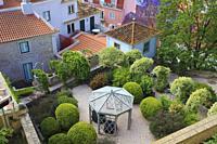 Portugal, Lisbon, Castle, garden,.