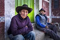 Peru, Coporaque, portrait.