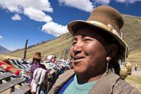 Peru, Chimboya, portrait.