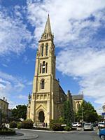 Notre Dame de Bergerac Church, Bergerac, Dordogne Department, Nouvelle Aquitaine, France.