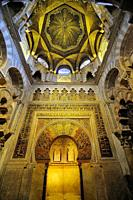 Mosque of Córdoba. Andalusia. Spain
