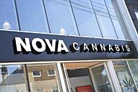 Nova Cannabis a legal Marijuana, CBD Dispensary in Toronto, Canada, Retail Store, The third legalized shop, dispensary licensed to sell Canadian Weed ...