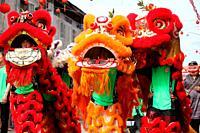 Chinese New Year Festival Capgomeh celebration, kuching, sarawak, malaysia, borneo