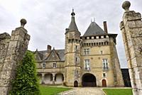 Chateau de Talcy, achete, en 1517, par le banquier Florentin Salviati connu comme etant le pere de Cassandre qui fut la muse du poete francais Pierre ...