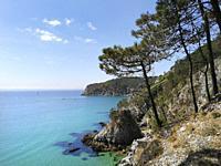 France, Finistere, Crozon, Ile Vierge.