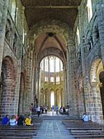 France, Normandy, Le Mont-Saint-Michel.