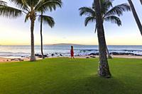 Sunrise in Maui island, Hawaii, USA.