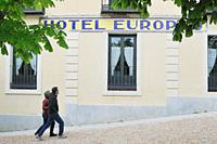 Hotel Europeo in La Granja de San Ildefonso, Segovia.