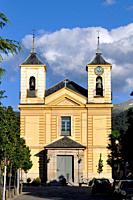 Church of Nuestra Señora de los Dolores (Our Lady of Sorrows) in Real Sitio de San Ildefonso, Segovia.