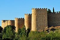 The Walls of Ávila, Spain.