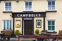 Campbellâ. . s Irish pub at the foot of Croagh Patrick in Murrisk County Mayo Ireland.
