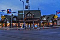 West Yellowstone at evening, ,southern Montana, USA.