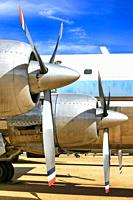 Wright R-2880 Radial Engines on the Douglas VC-118A Air Force One Plane used by Kennedy and Johnson 1961-65.