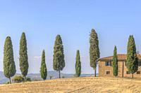 Pienza, Tuscany, Italy, Europe.