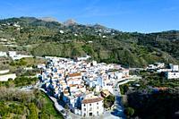 Ã. rchez, Málaga, Andalusia, Spain, Europe.