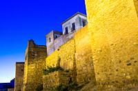 Alcazaba of Malaga, Andalusia, Spain, Europe.