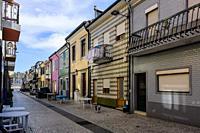 Streets of Afurada.