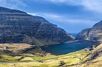 Saksun, Streymoy, Faroe Islands, Denmark.