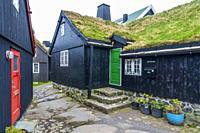 Tinganes, Tórshavn old town, Streymoy, Faroe Islands, Denmark, Europe.