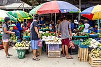 El Nido Street Market, El Nido, Palawan, The Philippines.
