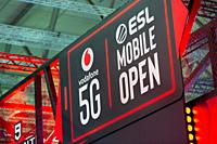 Cologne, Germany, August 20 2019, Gamescom: ESL Mobile Open, Vodafone 5G.