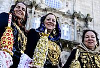 Desfile da Mordomia (Mordomia street parade) in honor of Our Lady of Sorrows (Viana do Castelo).