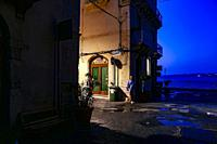 Syracuse, Sicily, Italy The back streets of Ortygia island at dawn.