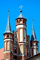 Church of the Virgin Mary in the old city of Torun - Poland.
