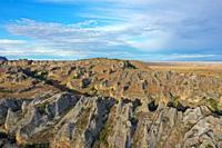 Sandstone landscape at Isalo National Park, Ihorombe Region, Fianarantsoa province, Madagascar.