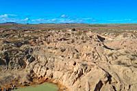 Ilakaka sapphire mine is one of Earth's largest known alluvial sapphire deposits, Ilakaka, Ihorombe Region, Madagascar.