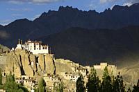India, Jammu & Kashmir, Ladakh, Lamayuru monastery.